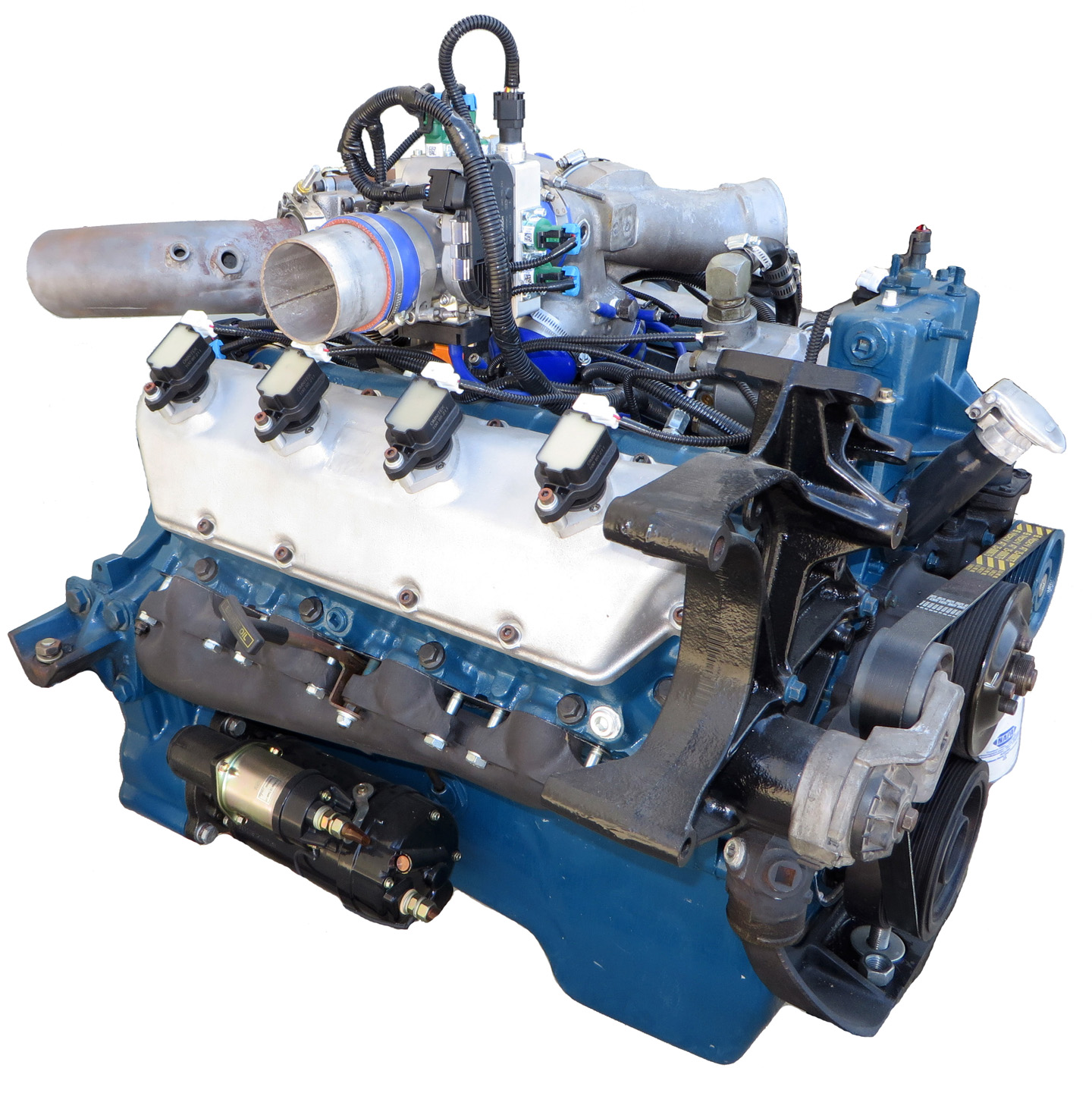Omnitek Diesel To Natural Gas Engine Conversion DNG Engine New
