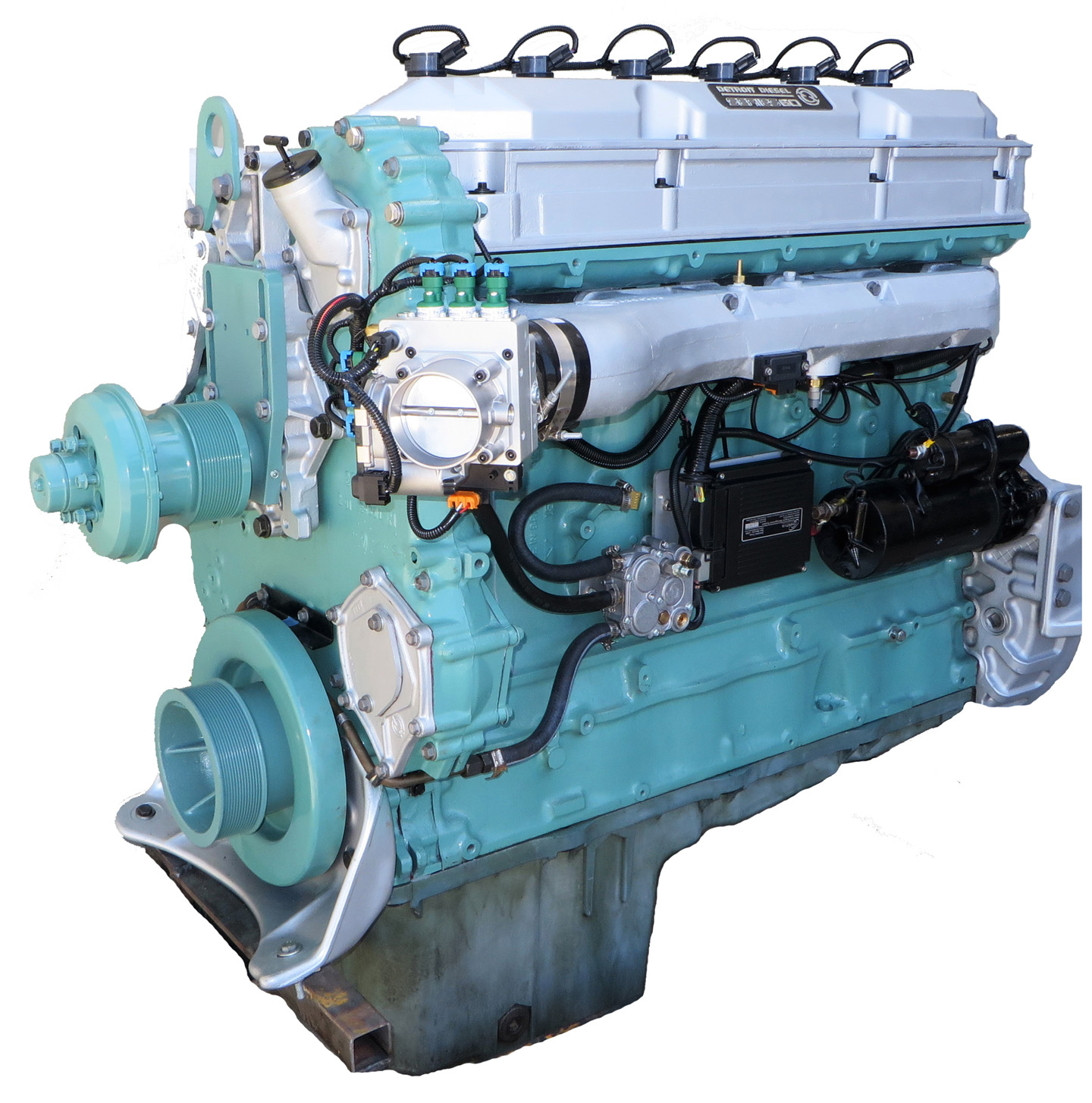 Omnitek Diesel To Natural Gas Engine Conversion DNG Engine