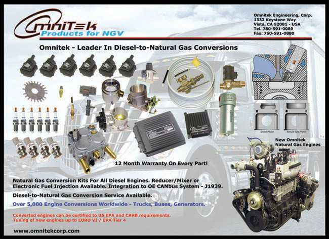 Omnitek Diesel To Natural Gas Engine Conversion New Natural Gas